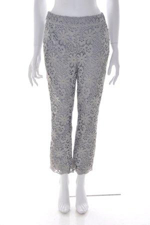 Dorothee Schumacher Pantalón tobillero color plata Algodón