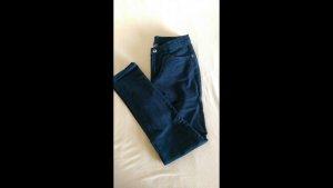 C&A Pantalon cigarette bleu foncé-bleu