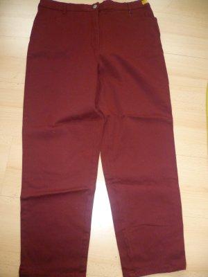 Barisal Jeans rouge foncé coton