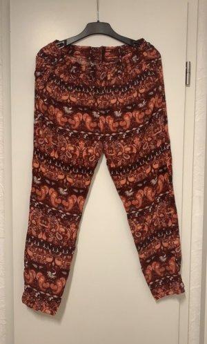 C&A Pantalón estilo Harem rojo-naranja