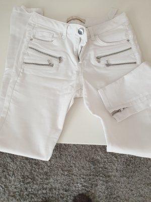 Zara Jeans elasticizzati bianco