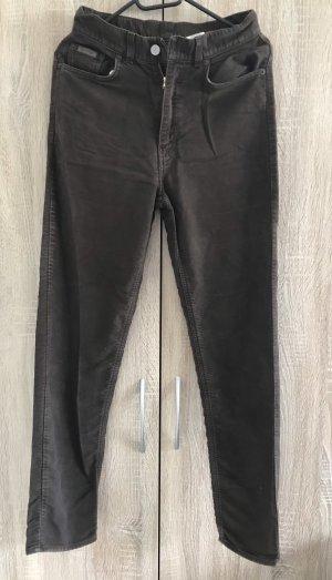 Calvin Klein Jeans Pantalon en laine gris brun