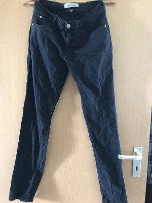 Blue Motion Pantalon cigarette noir