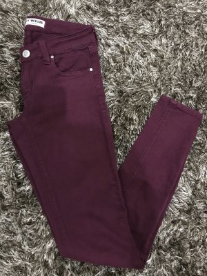 Tally Weijl Stretch Jeans bordeaux