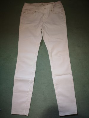 de.corp by Esprit Jersey Pants white-natural white