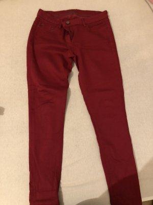 Esprit Pantalón elástico rojo
