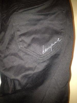 Desigual Drainpipe Trousers black polyester