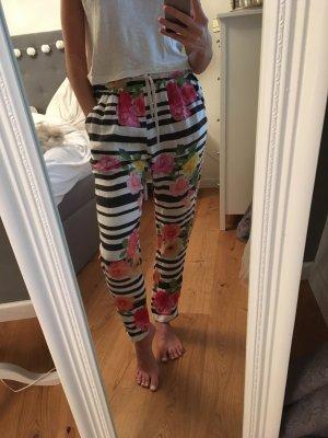 Motel Boyfriend Trousers multicolored cotton