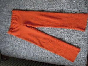Hose Freizeithose Walkstoff Orange Gr. 36/38