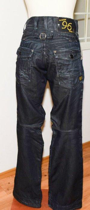 Gstar Jeans baggy bleu foncé coton
