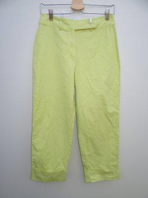 Vintage Pantalon 7/8 jaune primevère-jaune