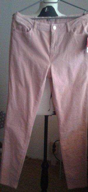 Orsay Pantalón de pana rosa claro