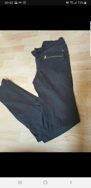 Orsay Pantalón de tubo gris oscuro