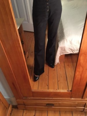 Nolita Pantalón de campana negro