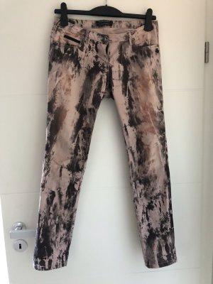 Maison Scotch Pantalon cinq poches gris-rosé