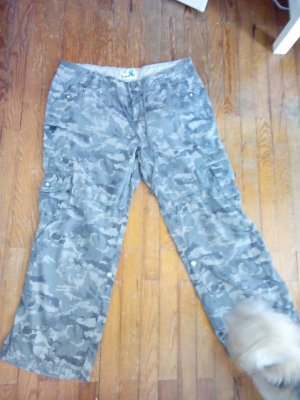 Hose im Camouflage Muster Gr.44