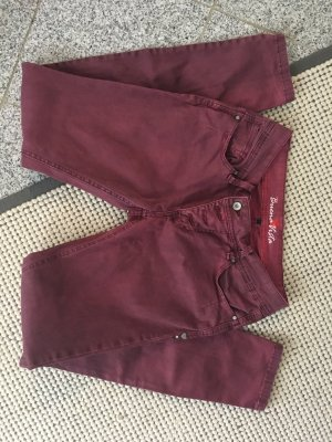 Buena Vista Low-Rise Trousers purple
