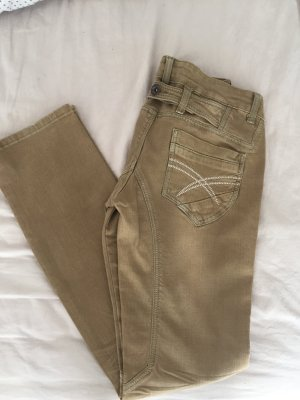 Low Rise Jeans sand brown