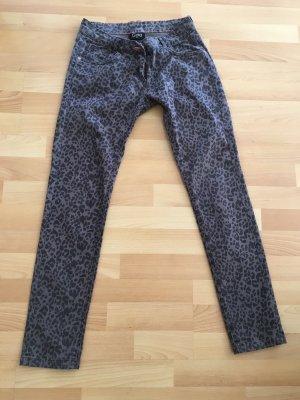 Gina Lage taille broek grijs-antraciet