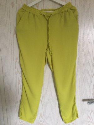 H&M Pantalón amarillo limón