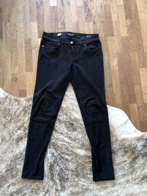 Tommy Hilfiger Pantalon cinq poches noir polyester
