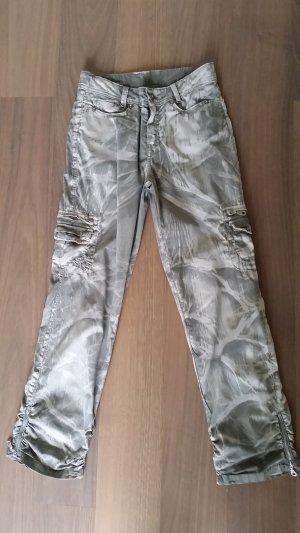 Hose, Jacky-O, Gr. 26, beige-khaki camouflage