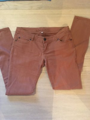 Hose Jeans Basic Skinny braun cognac Gr. 36