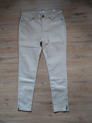 Hose Jeans beige gold Opus