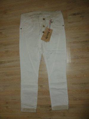 Superbugs Pantalon en jersey beige clair