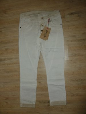 Hose Jeans beige superbugs neu