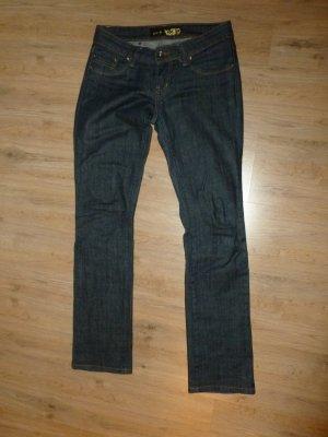 Hose Jeans blau Pailletten Big7