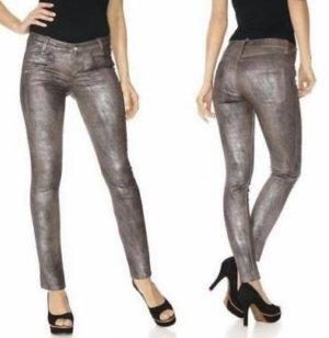 Hose Jeans braun 34