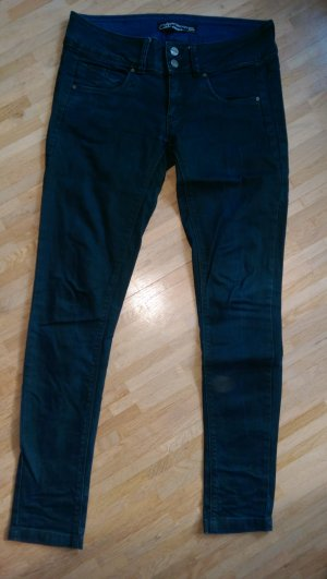Hose Jeans C&A clockhouse super skinny 38 grün blau
