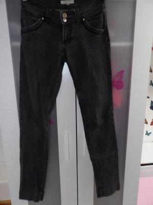 Hose Jeans Gr. 36 schwarz Amisu
