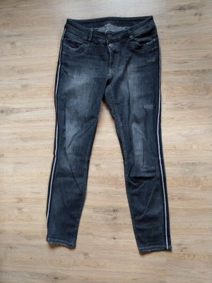 Blue Fire Stretch Jeans grey