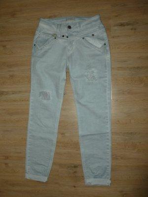 Hose Jeans hellblau türkis Tredy