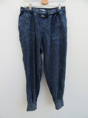 Hollister Pantalon boyfriend bleu