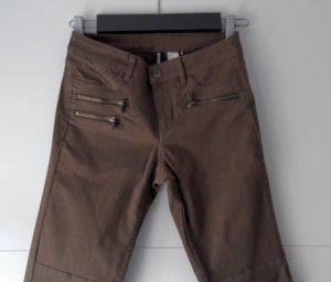 Hose Jeans im Bikerstyle olive/khaki
