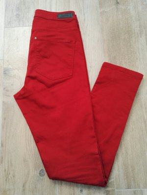 Hose / Jeans in rot / Skinny / Highwaist / Jeggings