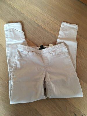 H&M Jeggings crema-beige claro