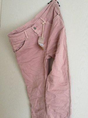 Hose Jeans mit Glitzer Seitenstreifen M/L