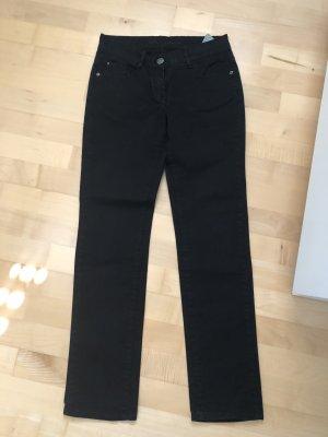 Hose, Jeans, Opus, schwarz