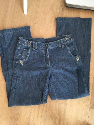 Hose Jeans Schlaghose blau Denim BootCut Leg Gr. 40