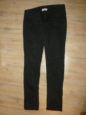 Hose Jeans schwarz Bershka