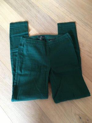 Hose Jeans skinny Jeggings dunkelgrün Basic Gr. 34