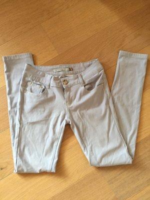 Hose Jeans skinny stretchig Stoffhose hellblau Gr. 36