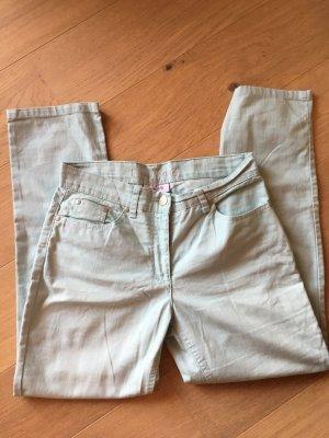 Hose Jeans Straight hellblau pastell Gr. 38
