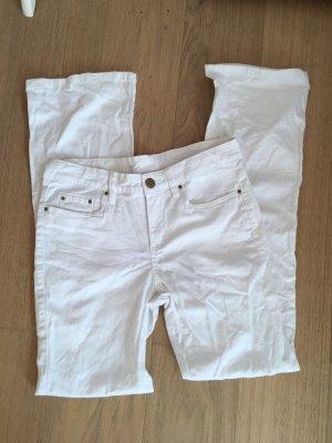 Jeans bootcut blanc