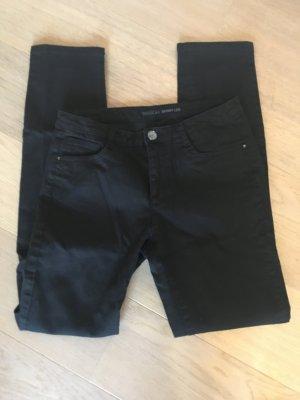 Hose Jeans stretchig Skinny schwarz Basic Gr. 36