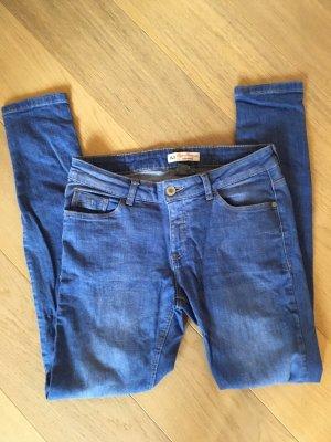 Hose Jeans super skinny blau Gr. 40